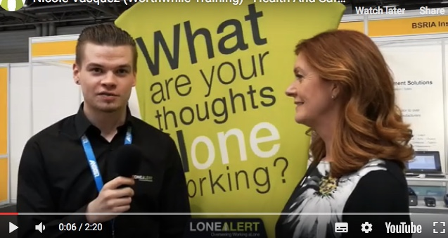 Our Host speaks to Lone Alert